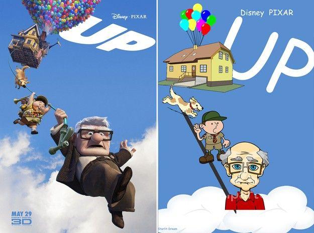 Famous Movie Posters Get Comic Sans And Clip Art Makeunder #Movies