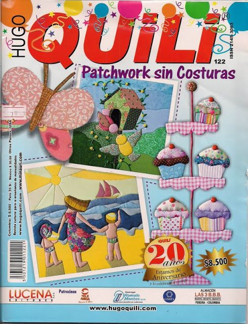 Quili Nº122 Pachwork sin costura