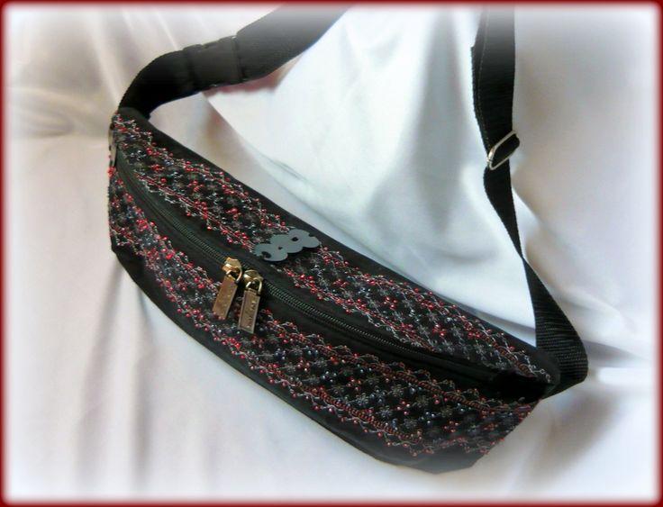 Handmade by Judy Majoros - Beaded fanny pack