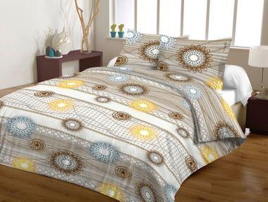 Komplet pościeli flanelowej 160x200 Rozeta #bedding #textiles #home #inspiration #dream #pillow #cases #sypialnia #bedroom