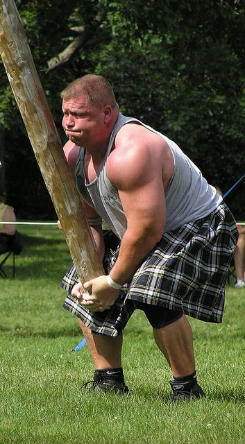 highland games | Highland Games Caber Toss | Flickr - Photo Sharing!