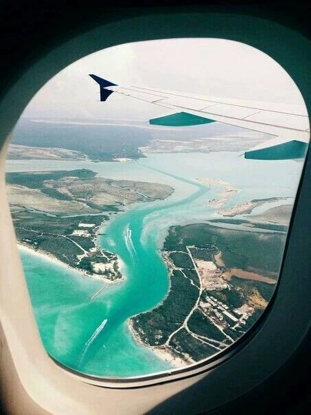 Sea view #airplane