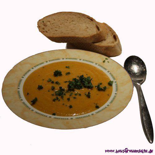 Möhren-Joghurtsuppe mit Curry unsere einfache Möhren-Joghurtsuppe mit Curry schmeckt feurig gut vegetarisch