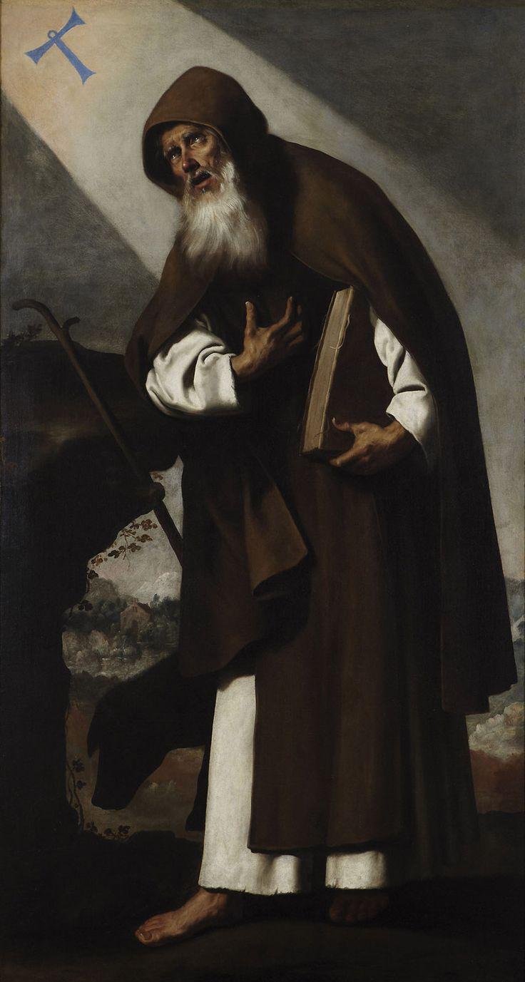 Francisco de Zurbarán Saint Anthony the Abbot Private collection