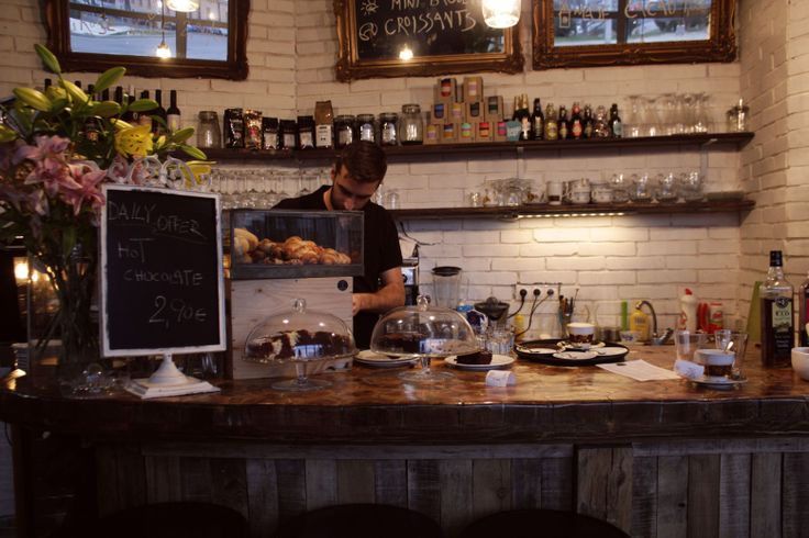Parisian style, French music, great coffee... that's a beautiful cafe a few minutes walk from the Bratislava castle... KAVA BAR  https://www.facebook.com/welcometobratislava