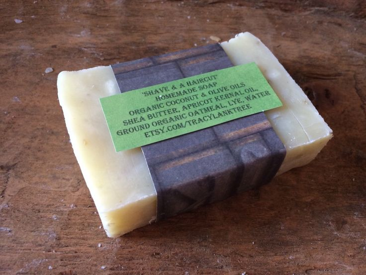 A personal favorite from my Etsy shop https://www.etsy.com/listing/234670929/soap-shave-and-a-haircut-fragrant-soap