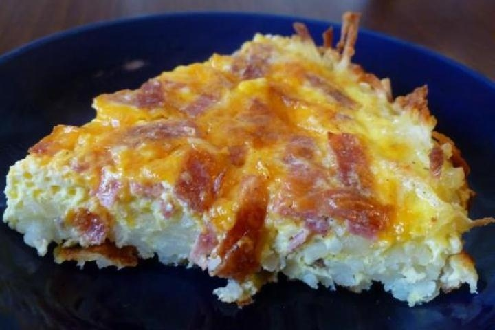 Ham and Cheese Quiche | facebook | Pinterest