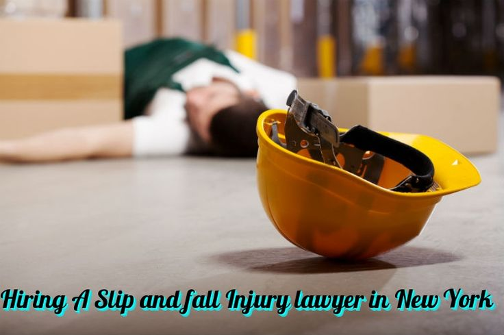When you've got recently suffered #SlipandFall #injury or #accident, #NewYork Slip and Fall #lawyer need to be the individuals you speak to quickly.