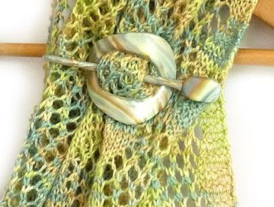 How to Make Scarf or Shawl Pins Tutorials ~ The Beading Gem's Journal