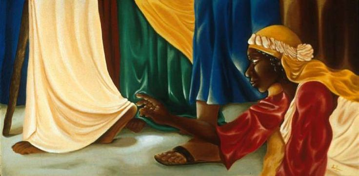 Hem of his 748 367 bible pinterest for Biola jesus mural