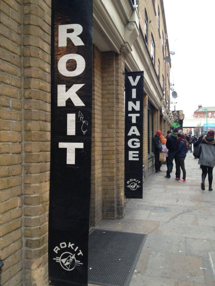Rokit Vintage Clothing (Brick Lane) http://www.rokit.co.uk/store-locator