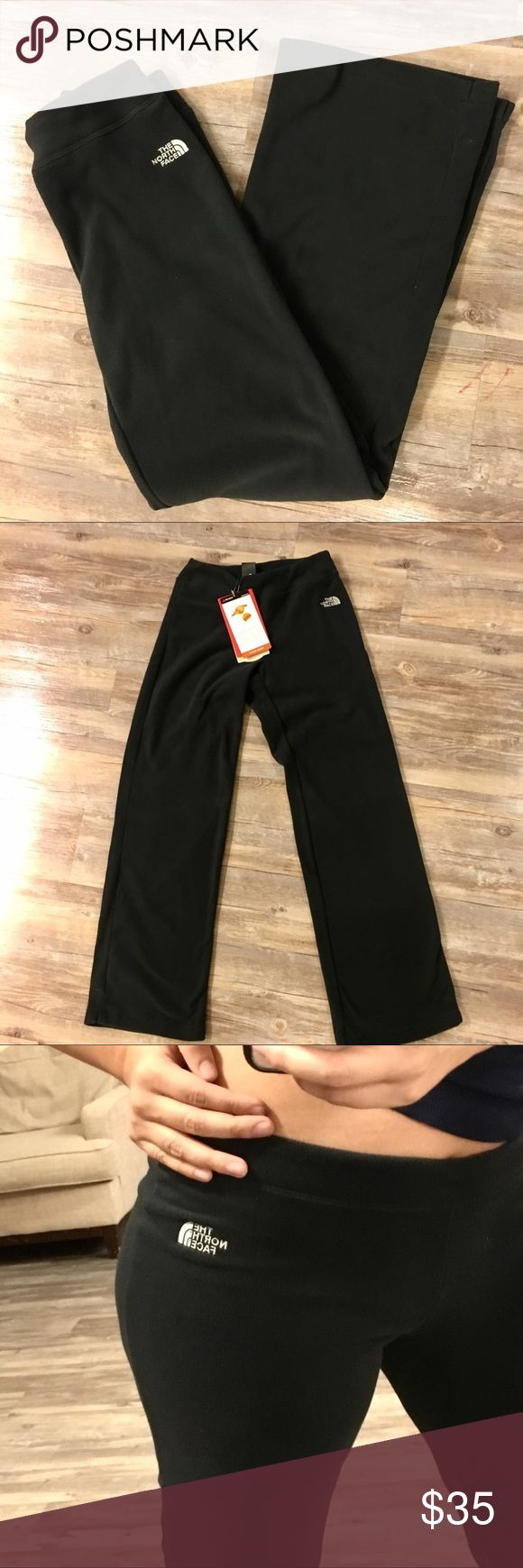"""North Face Polartec Classic Microfiber Pants Super soft pants. Made with microfiber. UPF sun protection. Highly breathable material. Color is a kind of charcoal black. Probably best for a petite woman. I'm 5'9"""", size 6 and they're a little tight and short on me. North Face Pants Track Pants & Joggers"""
