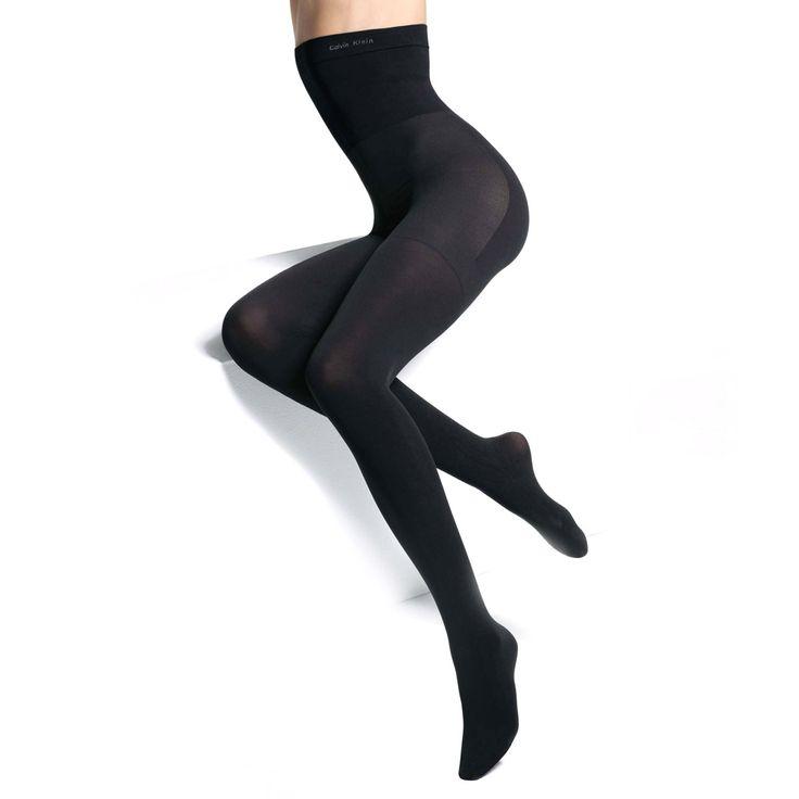 Mega lækre CK Ultra Fit højtaljede strømpebukser Calvin Klein Modetøj til Damer i dejlige materialer