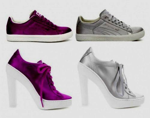 Атласные туфли для девочек