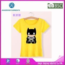 2015 popular new women short sleeve cartoon pattern china cotton fabric t-shirt  Best seller follow this link http://shopingayo.space