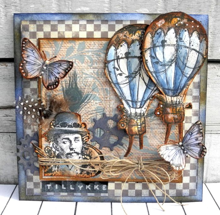Steampunk Journey - Pia Baunsgaard - Stempelglede :: Design Team Blog