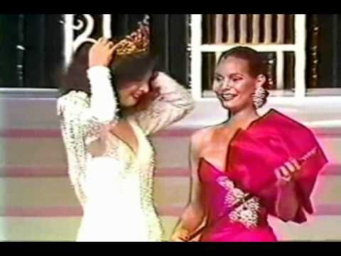 Señorita Colombia - Crowning Moment (1981- 1990)