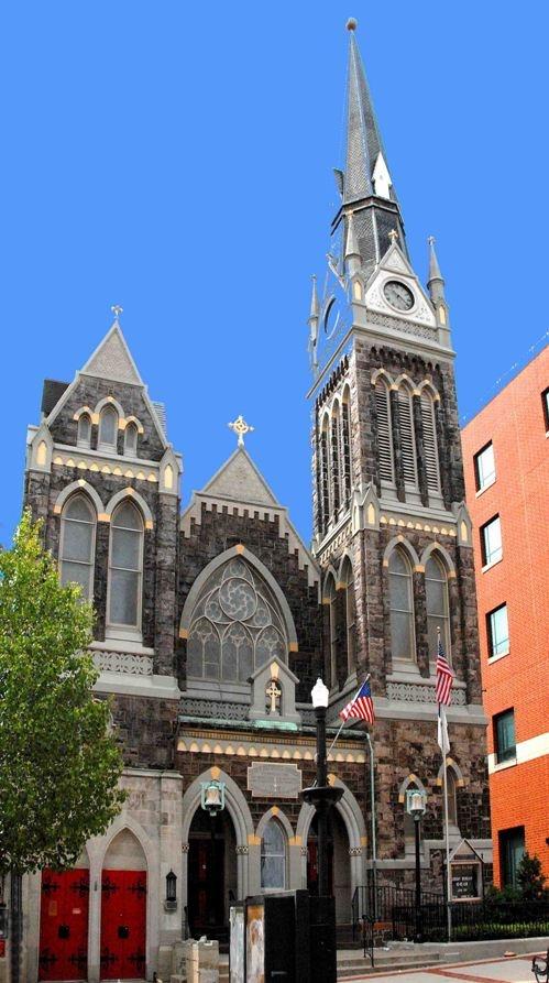 Zion's UCC Church, where the Liberty Bell was hidden during the Revolutionary War