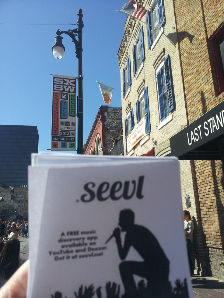 #seevl at #SXSW 2013 #music #musictech #festival