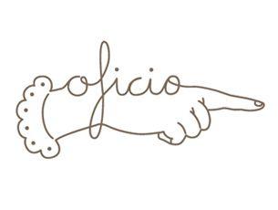 Logotipo para Lola Espinosa y su taller de encuadernación artesanal creado por Elisa Talens.