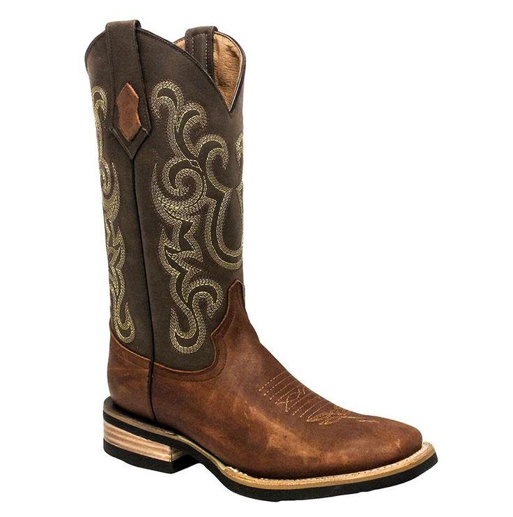 Ferrini Mens Maverick Brown Western Boots