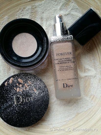 Совершенный цвет лица с обновленной линейкой Dior Diorskin Forever – миф или реальность? отзывы — Отзывы о косметике — Косметиста
