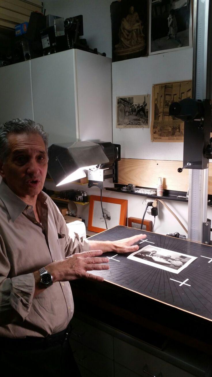 At Thomas Roma's laboratory