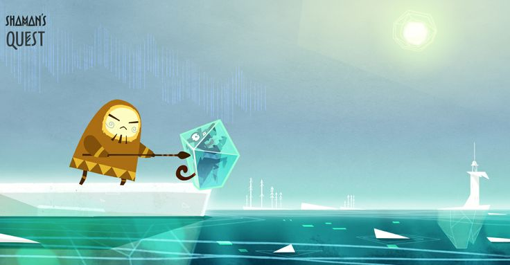 #character #concept #animation #dog #ice