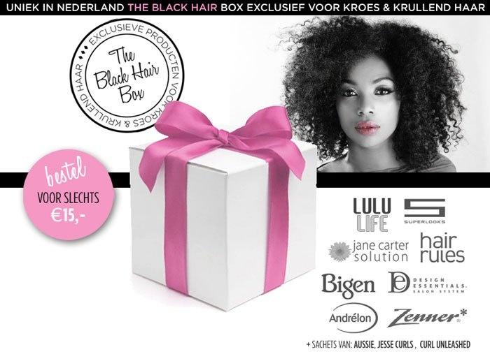 Black Hair Box: beauty box voor kroes en krullend haar