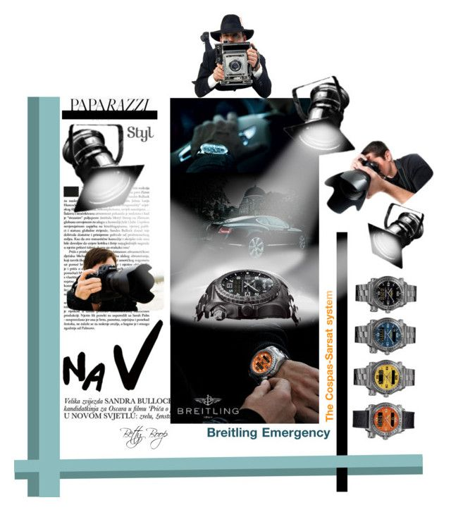 Breitling Emergency Watch Can Save Your Life by betiboop8 on Polyvore featuring Breitling