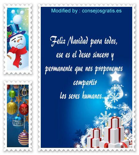 pensamientos bonitos de Navidad para facebook, palabras bonitas para Navidad para whatsapp, textos de Navidad para enviar a mis amigos, saludos de feliz Navidad,bonitas frases navideñas para enviar gratis
