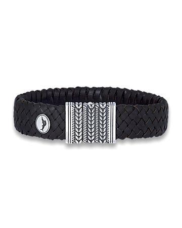 Island Woven Leather Bracelet