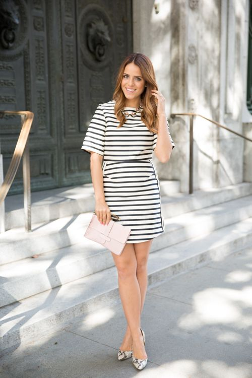 The Striped Dress - Gal Meets Glam