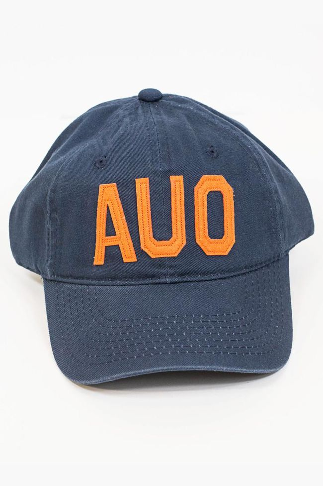 AUO Auburn, AL Aviate Hat (Navy/Orange)