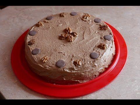 Thermomix 5 - tort z masą czekoladowo-kawową - YouTube
