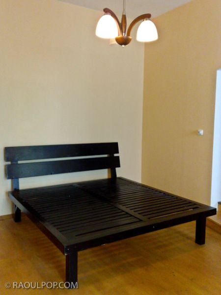 Custom-made king size bed frame