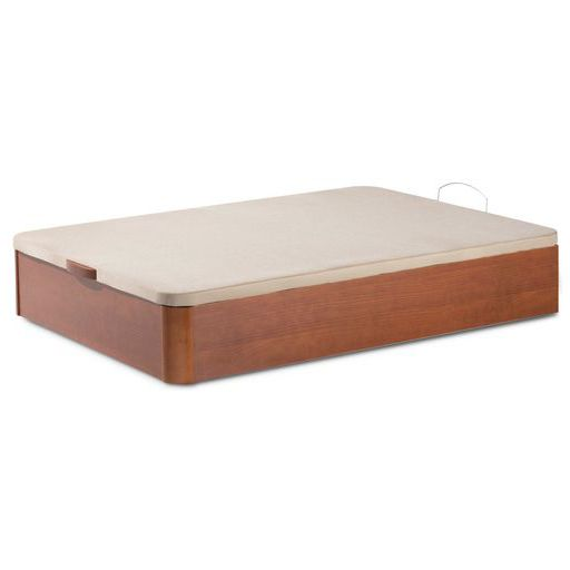 Canapé abatible de madera con tablero tapizado en tejido 3D transpirable