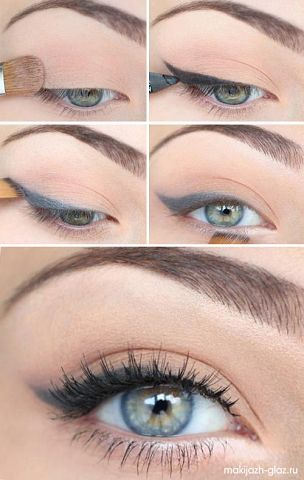 cat eye perfection in silver/grey line - the eyes have it!