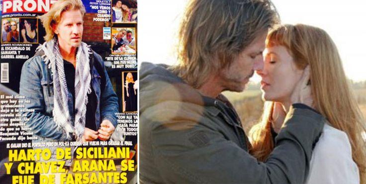 """Facundo Arana irá preso en Farsantes: dicen que se va """"harto de Siciliani y Chávez"""" http://www.ratingcero.com/c108444"""