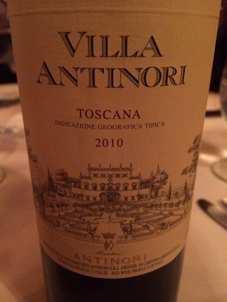 Villa Toscana Blanc 2010 - delicious red from Tuscany. Smooth, fruity, dry, slightly acidic