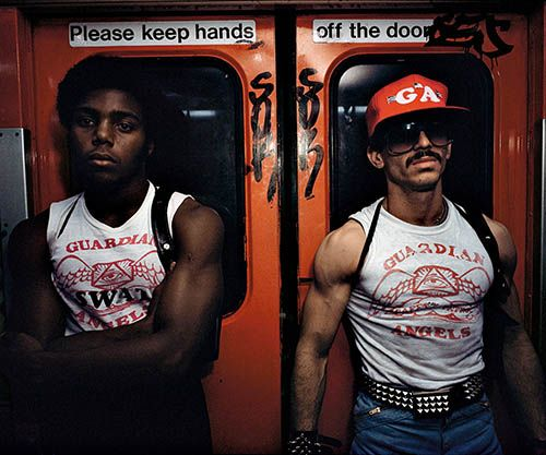 Guardian Angels first made an appearance on the New York subway in 1979 in an attempt to quell rising levels of violence.