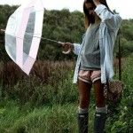 What to wear on a rainy summer day. A bit more playful..