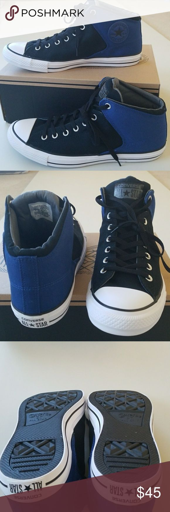 NWT Men's  Converse New really awesome Converse. Missing box top. Converse Shoes Sneakers