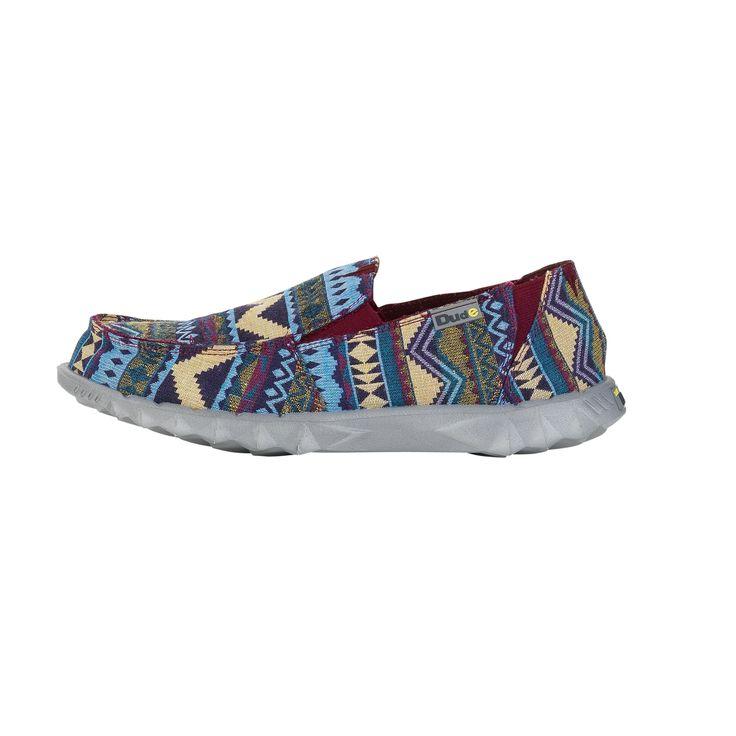 Dude Shoes Farty Kids Sea Blue Slip On / Mule 29 o1VQrtez2k