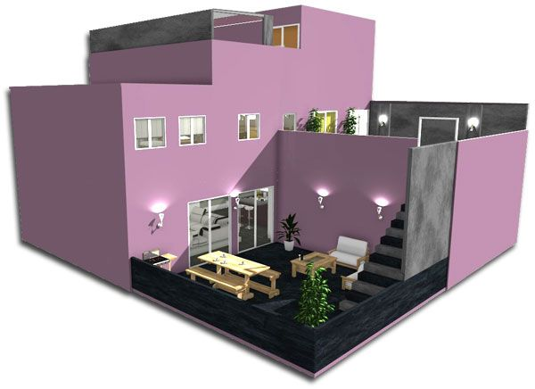 100 best 3d home design images by homebyme on pinterest 3d home design 3 4 beds and advice. Black Bedroom Furniture Sets. Home Design Ideas