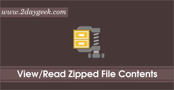 Easy Ways to Read/View Zip & Archive File Contents Without Extracting
