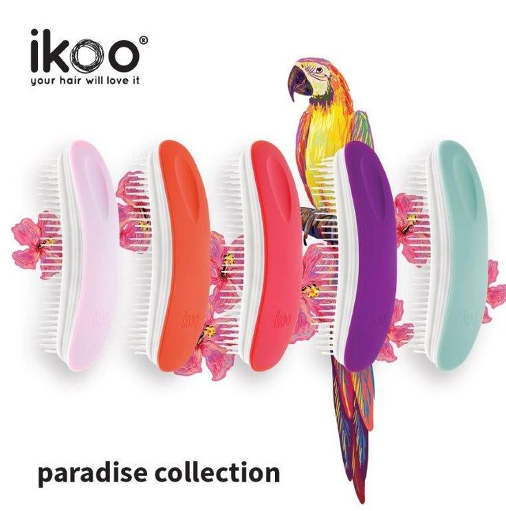 paradise collection #ikoobrush #hair #haircare #beautylove