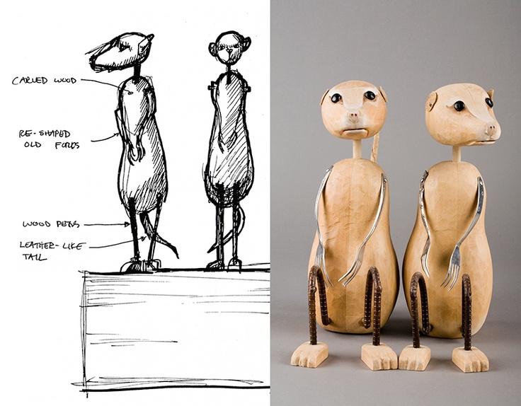 Noahs Ark Meerkat Prin... Meerkat Pictures To Print