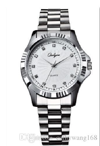 2016 Luxury Quartz Waterproof Watch Brand Men's Watch All Steel Fashion A Variety Of Color Leisure Business Pointer Machinery Online with $16.65/Piece on Cathywang168's Store | DHgate.com