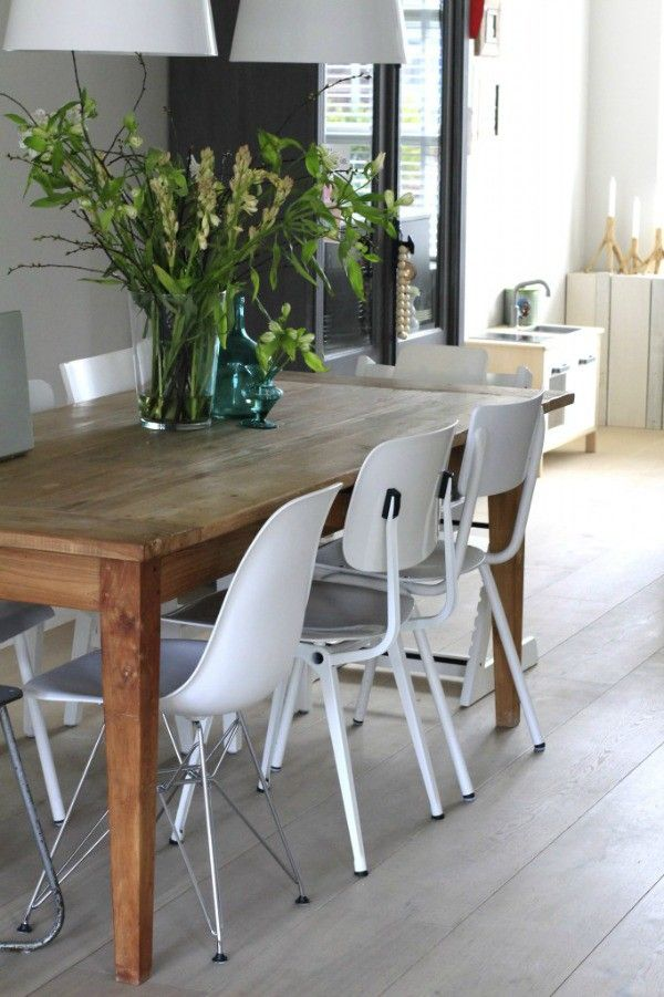 1000 images about verlanglijstje on pinterest house doctor greenhouses and kitchen white - Stoelen kleur dining ...